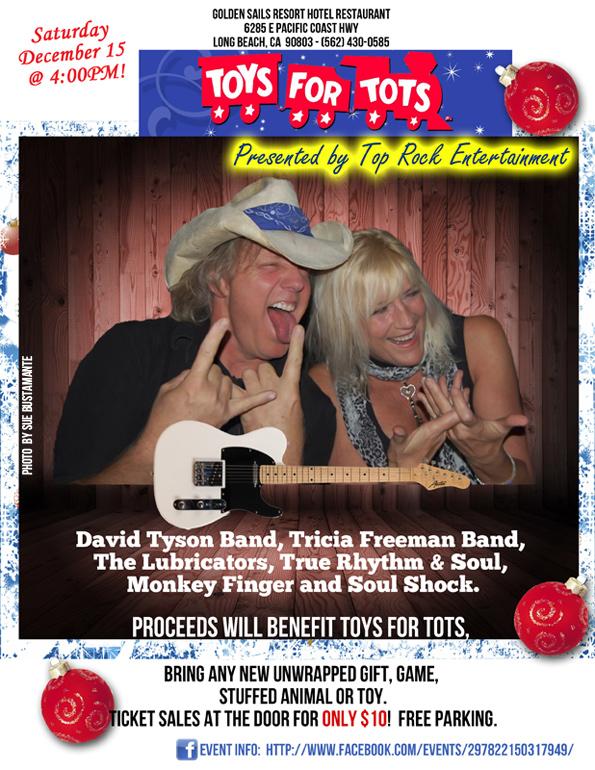 TOYS-FOR-TOTS Benefit Concert December 15, 2012